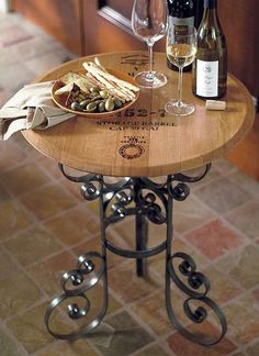 Retains the distinct character of its original cask and is sure to be a conversation piece at your next wine tasting.