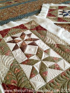 THE QUILTED PINEAPPLE: Eventide Quilt