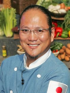 Chef Morimoto... I know him mostly from Iron Chef and Iron Chef America, where he creates some amazing dishes with utmost deft.