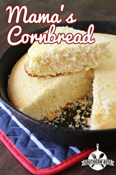 The BEST Cornbread!