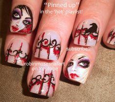 rockstar nails by robinmoses - Nail Art Gallery nailartgallery.nailsmag.com by Nails Magazine www.nailsmag.com #nailart