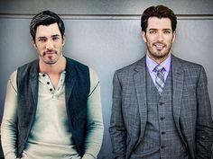 JONATHAN & DREW SCOTT...them property brothers!