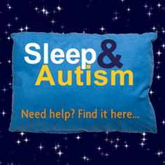 How to get some sleep when your child has #autism...