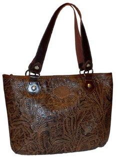 Harley-Davidson® Women's Floral Brown Tote Bag « Clothing Impulse