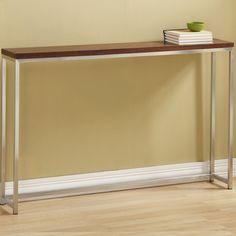 wayfair Tall Console Table