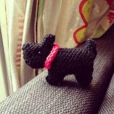 scottie dogs, free pattern, knitting patterns, diy pattern