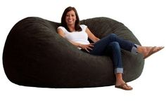 Comfort Research 6-Foot XL Fuf in Comfort Suede This is the chair that brought bean bags out of the 1970s and into the bedrooms and dorm rooms all over the world. The first one to use patented memory foam, the Fuf is one-of-a-kind. Spend five minutes on a Fuf and your body will thank you
