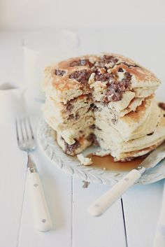 Sausage Pancakes. These are scrumptious. If you like to dip your sausage in maple syrup these pancakes are for you. If you want it to be a faster and easier recipe, use Krusteaz buttermilk pancake mix instead of the batter made from scratch.