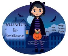 Non-scary Halloween songs, stories, crafts for little ones