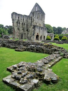 Close your eyes and dream of England -    Wenlock Priory Ruins, Much Wenlock, Shropshire....
