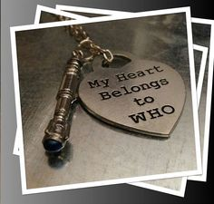 Dr. Who Necklace... OMG WANT!!! necklac