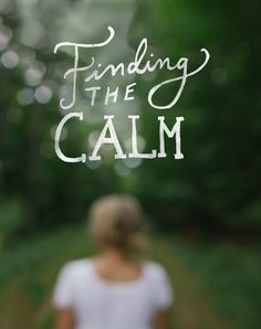 Finding the Calm  |  The Fresh Exchange