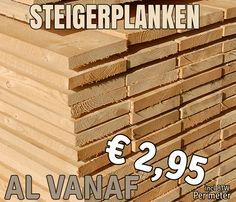 Planken ruw
