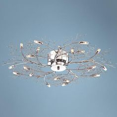 "Possini Euro Branch 30 1/2"" Wide Ceiling Light Fixture -"