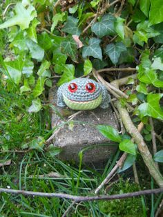 Frog   #crochet #amigurumi  knutsel-mam