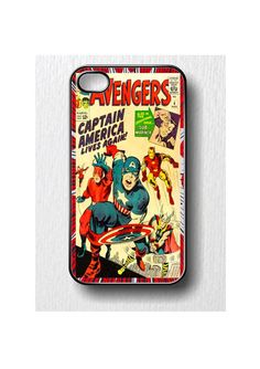 Avengers Iphone case for iphone 4 or iphone 4S by SublimationArt, $14.00 #etsy