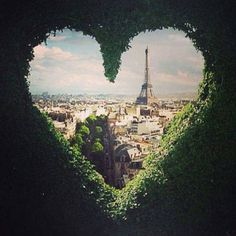 hedges, heart, towers, valentine day, paris travel, romantic places, beauty, travel photography, wanderlust
