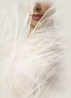 ~ white veil, wedding veils, lip, woman, beauti peopl, artist, bride, colorwhit, soft
