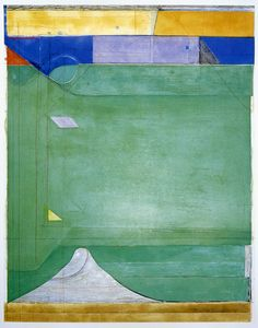 Richard Diebenkorn, Green.