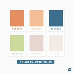 Color Palette No. 83 #color #colorscheme #colorpalette