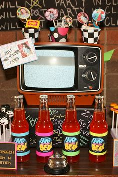 "LOVE this ""saved by the bell"" party! See more at http://www.karaspartyideas.com/2012/01/saved-by-bell-party.html"