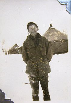 World War Two, United States Army Air Force (U.S.A.A.F.), 5th Photo Reconnaissance Group, 32nd Photo Recon Squadron, Cpl. Willie Dysart (Photo Lab Tech), Italy, Winter, 1944