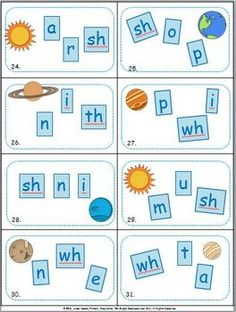 Five ELA Scoot games for CVC words, digraphs, compound words, and alphabetical order.    $