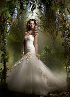 Alice In Wonderland Themed Wedding Dresses images
