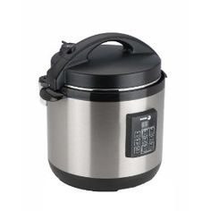 Fagor 670040230 Stainless-Steel 3-in-1 6-Quart Multi-Cooker    6-quart multi-cooker functions as rice cooker, pressure cooker, and slow cooker!