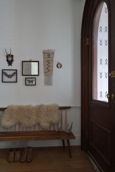 Doors! #bench #entry #interior