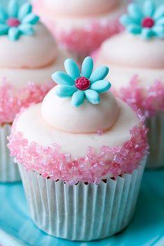 Spring cupcakes!
