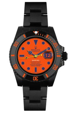 Peter Davis Customized Submariner Watch