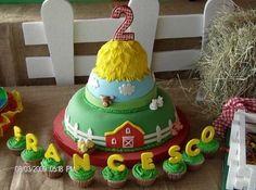 Farm birthday cake birthday