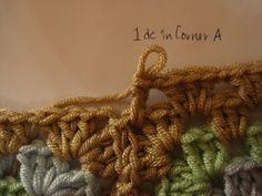 Compact UK: How To: Crinkle Free Granny Square Borders