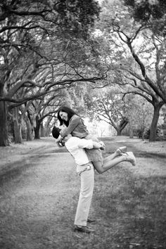 I'd love to find a groove of trees ... live oaks would be the best!  charleston wedding engagement www.riverlandstudios.com