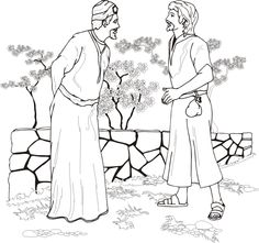 King Ahab asks to buy Naboth's Vineyard
