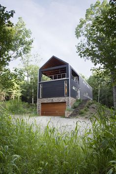 modern exterior by Actual Size Projects