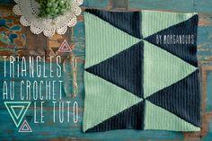 Tuto triangles au crochet