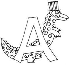 A - Alligator