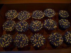 PomPom Cheerleader Cupcakes