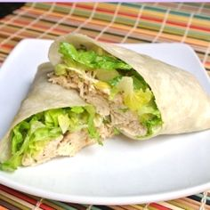 Chicken Caesar Wrap by momwhatsfordinner