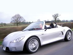 Marlin SportCars, 5exi, performance oriented mid-engined roadster.  Again, this one is hand built to your driving specs. Race/Track/and road versions are all available.  Engines offered include VW, Honda, and Rover.  Spec'd with a Supercharged Honda R engine: 0-60: 3.5 seconds, and top speed of 165+ mph.  Pricing starts around £18000