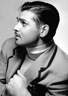 Clark Gable by Clarence Sinclair Bull, 1934