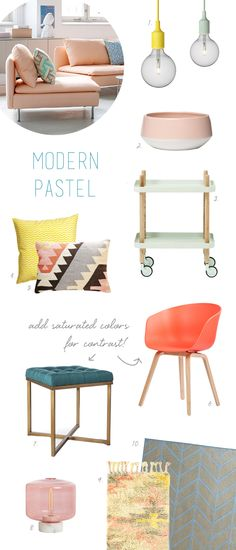 modern pastel home i