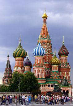Saint Basils Cathedral - Moskow