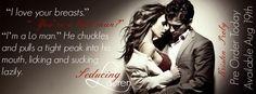 Seducing Lauren by Kristen Proby http://www.amazon.com/Seducing-Lauren-Love-Under-Book-ebook/dp/B00GEEB4Y2/ref=sr_sp-atf_title_1_1?s=books&ie=UTF8&qid=1407790578&sr=1-1&keywords=seducing+lauren