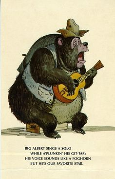 Country Bear Jamboree ~ Big Al .....Just for you Daddy, your favorite!