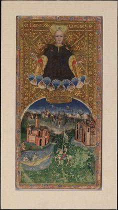 tarot, Italy. 1445.