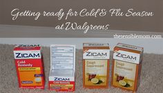 Getting ready for the cold and flu season using Walgreens Balance Rewards! #BalanceRewards #Cbias