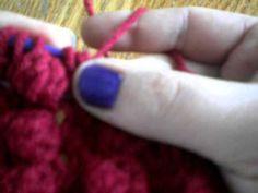 knook bobbl, knook knit